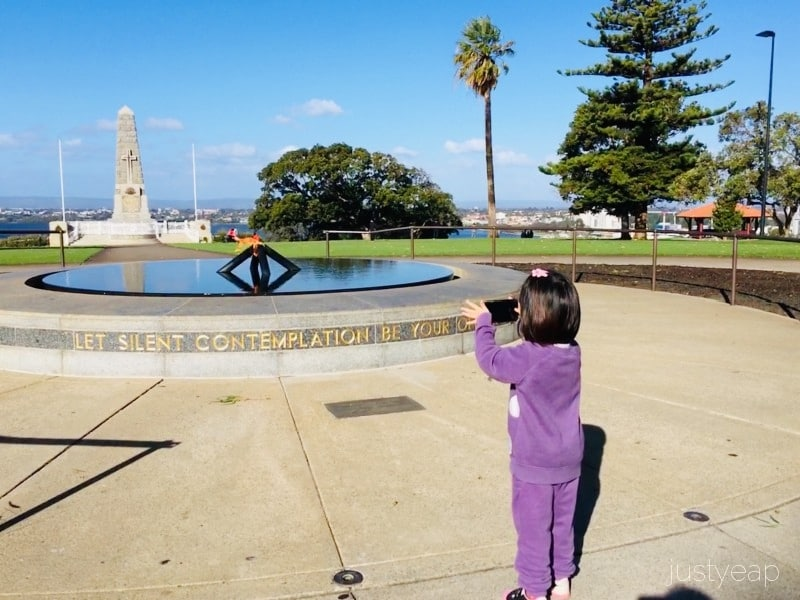 State War Memorial & Flame of Remembrance