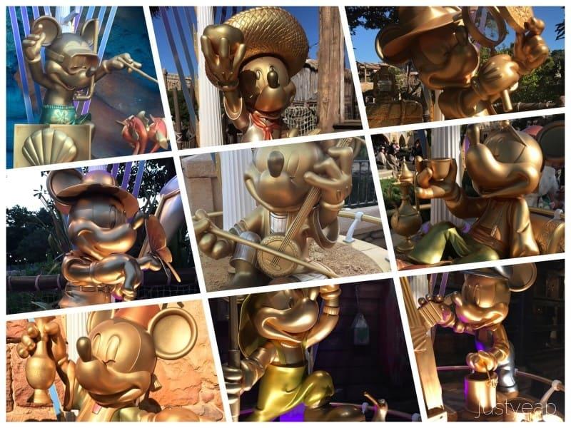DisneySea Mickey Statues