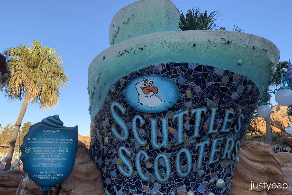 DisneySea Scuttle Scooters