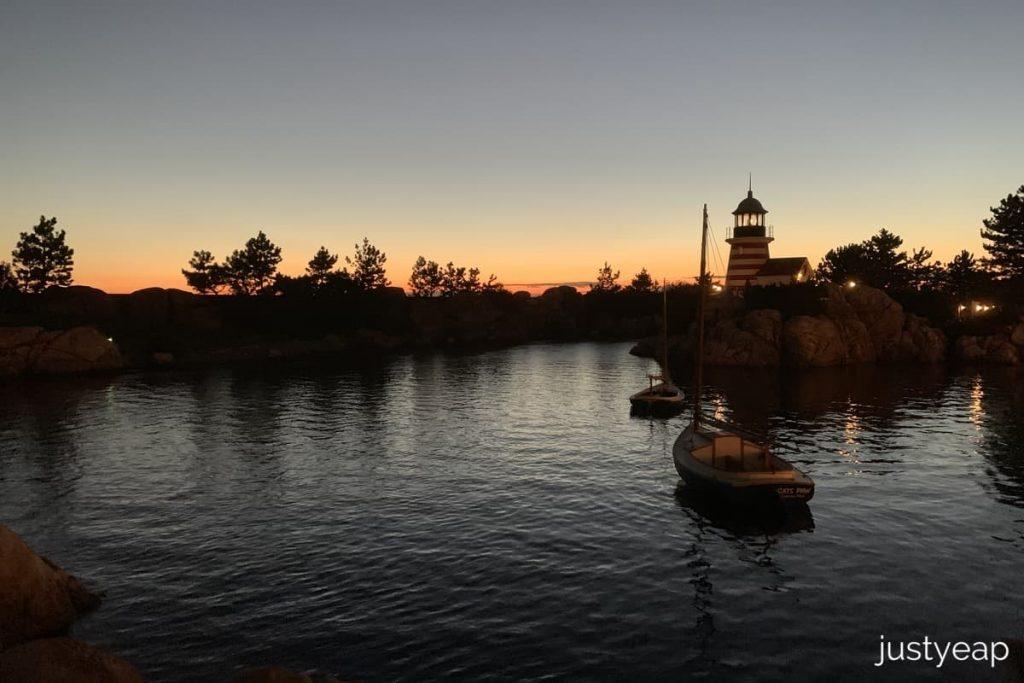 DisneySea Sunset
